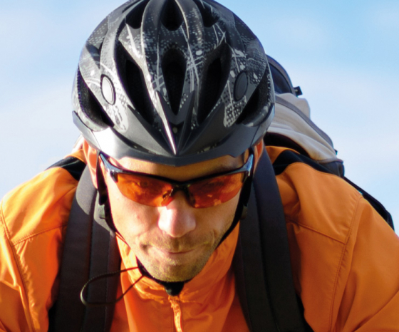 Cycling and Goggles