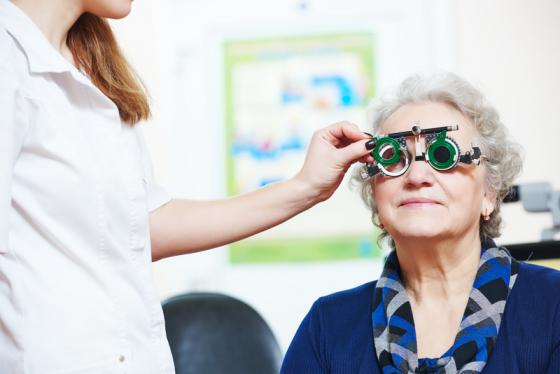 Adult Eye Test